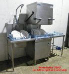 Winterhalter GS 501 Pass Through Dishwasher