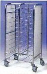 EAIS Clearing Trolley Side By Side 2x10 tiers Trolleys