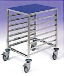 EAIS Gastro 1/1 Low Level 4 Tier Trolleys