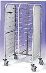 EAIS Club Clearing Trolley 10 Tier Trolleys